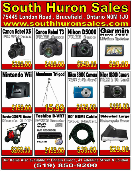South Huron Sales